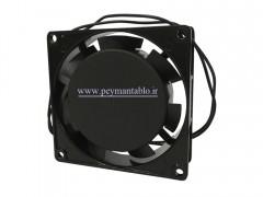 فن تابلویی 220 ولت AC به ابعاد (8*8) (عرض 2.5)