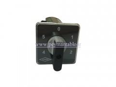 کلید سلکتور پنج حالته 25 آمپر تک فاز (KAVEH)