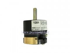 کلید سلکتور (گردان) تک فاز ، یکطرفه ، 12 آمپر ، TRS