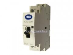 کنتاکتور مینیاتوری کلید دار تک فاز 25 آمپر 220 ولت JBH