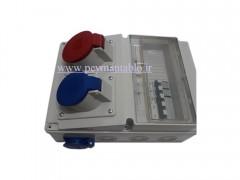 جعبه پریز کارگاهی تک و سه فاز(IP66) آمپراژ 32 PARSA