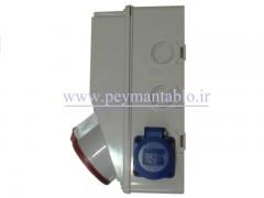 جعبه پریز کارگاهی تک و سه فاز (IP66) آمپراژ 32 (PARSA)