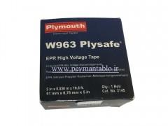 نوار آپارات عرض 69KV 51mm (های ولتاژ) Plymouth W963