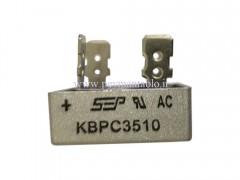 دیود یکسو کننده ولتاژ AC به DC تک فاز (دیود پل) 10 آمپر