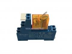 رله مینیاتوری 24 ولت AC تک کنتاکت (Finder(40.61