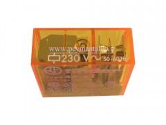 رله مینیاتوری 230 ولت AC تک کنتاکت 16 آمپر(40.61)Finder