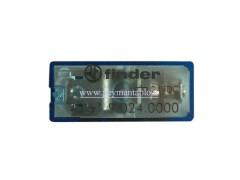 رله مینیاتوری 24 ولت DC تک کنتاکت  16 آمپر (بدون پایه) Finder