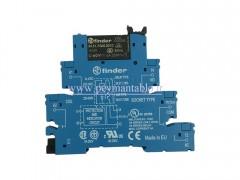 رله PLC) 230 V AC) یک کنتاکت (Finder(38.51