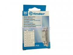رله ضربه ای (طرح مینیاتوری) 230 ولت AC دو کنتاکت 16 آمپر Finder