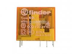 رله فیندر 230 ولت AC دو کنتاکت (Finder(40.52