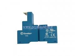 رله فیندر 230 ولت AC چهار کنتاکت (7 آمپر) (Finder(55.34