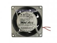 فن تابلویی 110 ولت AC به ابعاد (8*8) بلبرینگی (عرض 4.2)