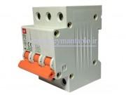 کلید مینیاتوری (mcb) سه پل / سه فاز 10 آمپر ، LS