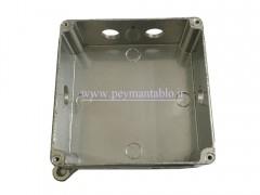 جعبه تقسیم فلزی 6.5*15*15