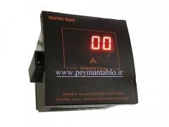 آمپر متر تکی دیجیتال (مولتی رنج) Micro Max Electronic