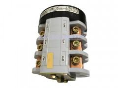 کلید سلکتور (گردان) سه فاز ، دو طرفه ، 100 آمپر ، TRS