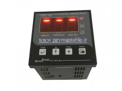آمپر متر سه فاز با رله کنترل کننده جریان کد SHIVA Amvaj 13D1