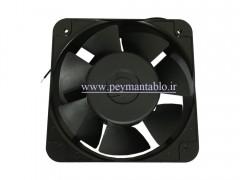فن تابلویی 220 ولت AC به ابعاد (15*15) (عرض 5) Comnowlaeth