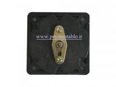 کلید سلکتور (گردان) دو فاز ، یکطرفه ، 25 آمپر ، TRS