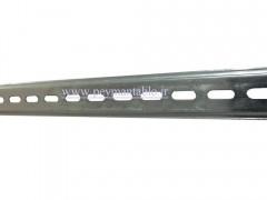 ریل گالوانیزه سفید ورق 1 میل 1 متری RAAD (TH35-7.5)