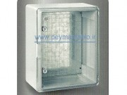 تابلو پلاستیکی (ABS) درب شفاف (50،70،25) World-Plast