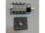 کلید سلکتور هفت حالته 16 آمپر تک فاز (KAVEH)