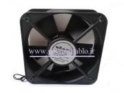 فن تابلوئی 220 ولت AC با ابعاد (12*12) بلبرینگی (عرض 3.8) Comnowlaeth