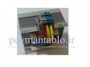 ترانس کاهنده ولتاژ 220 به 12 یا 24 ولت 500 ولت آمپر(VA) (ترانس ایزوله)
