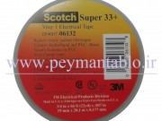 نوار چسب برق سوپر 33  (Scotch Super 33) عرض 19میلیمتر