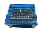 جعبه (باکس) باسبار سه فاز (سه فاز و نول) 11 پیچ RST