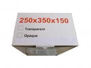 تابلو پلاستیکی (ABS) درب شفاف (15*35*25) با IP65 دانوب باکس