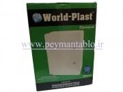 تابلوی پلاستیکی (ABS) درب شفاف (World-Plast (25*35*15