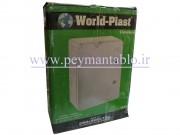 تابلوی پلاستیکی (ABS) درب مات (World-Plast (35*50*19