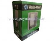 تابلوی پلاستیکی (ABS) درب مات (World-Plast (40*50*24
