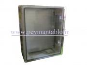 تابلوی پلاستیکی (ABS) درب شفاف (World-Plast (40*50*18