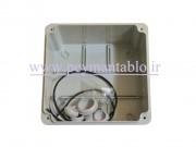 جعبه تقسیم برق (درب پیچ خور) پلاستیکی World-Plast 15*15*8