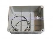 جعبه تقسیم برق (درب پیچ خور) پلاستیکی 8*15*19 World-Plast