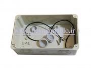 جعبه تقسیم برق (درب شفاف) پلاستیکی 8*12*21 World-Plast