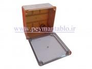 جعبه تقسیم برق (درب شفاف) پلاستیکی World-Plast 15*15*8