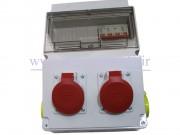 جعبه پریز کارگاهی تک و سه فاز (IP66) آمپراژ 16 (PARSA)