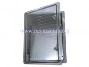 تابلو پلاستیکی (ABS) درب شفاف (22*50*40) با HTS IP65