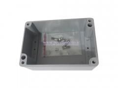 جعبه تقسیم آلومینیومی دایکاست 7.5*15*11 World-Plast