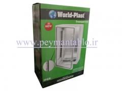 تابلو پلاستیکی (ABS) درب مات (20*60*40) با World-Plast IP65