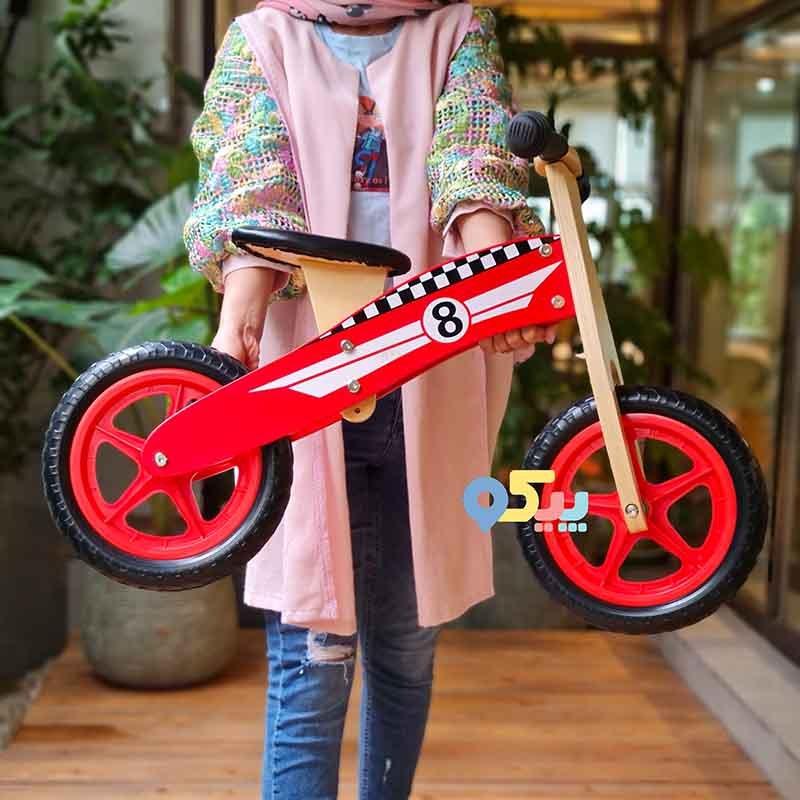 دوچرخه تعادلی چوبی کودک
