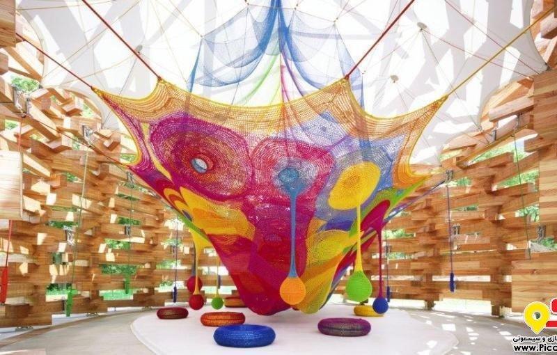 رنگین کمان بافته شده برای کودکان