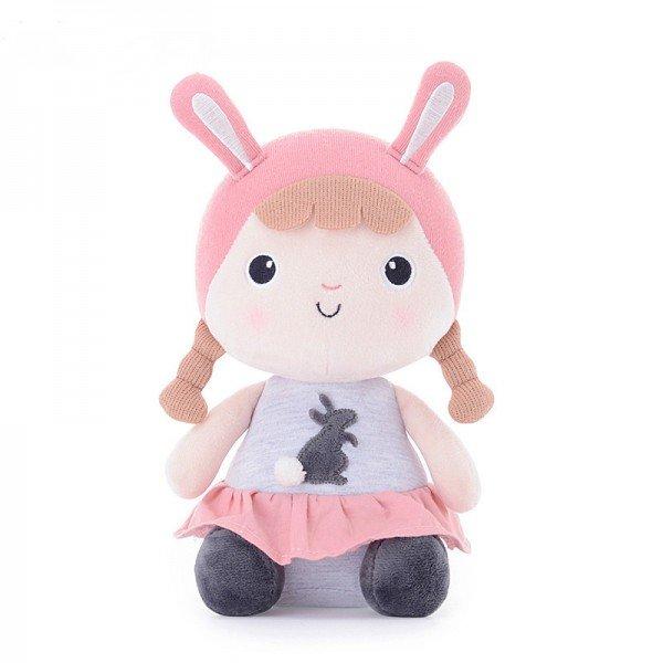 عروسک دخترک نشسته با لباس توسی مدل JAA905
