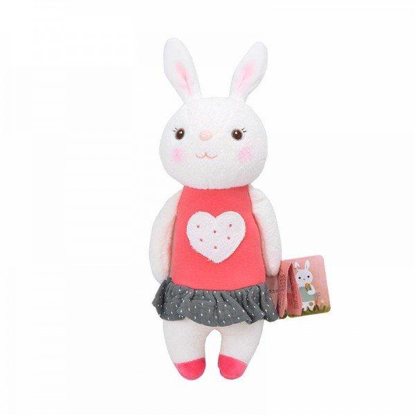 عروسک خرگوش با لباس قرمز مدل JAA931