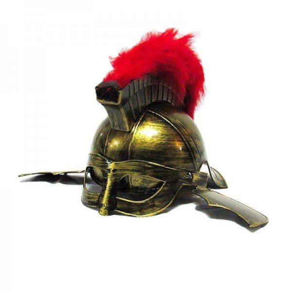 کلاه خود رزمی طلایی نقابدار مدل 7448