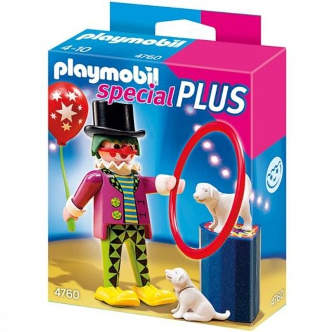clown with dog slow كد4760