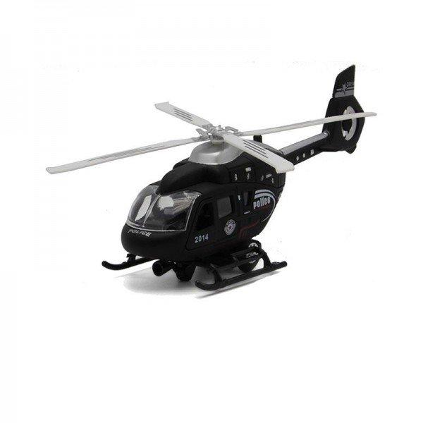 هلیکوپتر نظامی سیاه مدل MHD836